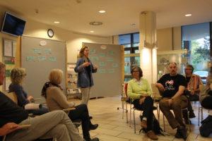 DESIGN THINKING: SHARING MODELLE Workshop @ Ev. Familien-Bildungsstätte