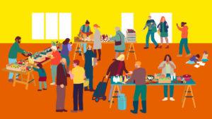 Offene Verkostung bei den Marktschwärmern: @ Bonhoeffer Haus