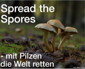 Spread the Spores - mit Pilzen die Welt retten @ mosaique Lüneburg Haus der Kulturen