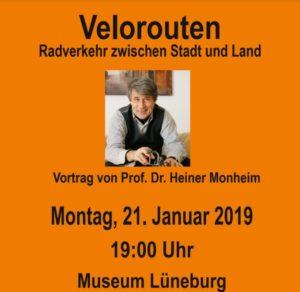Vortrag: Velorouten Radverkehr zwischen Stadt und Land @ Museum Lüneburg Marcus-Heinemann Saal