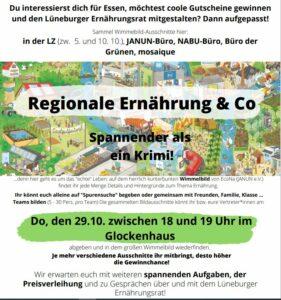 REGIONALE ERNÄHRUNG / Wimmelbild @ Glockenhaus Lüneburg