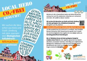 LOCAL HERO – CO2 -SPARWETTBEWERB @ Kurpark Lüneburg
